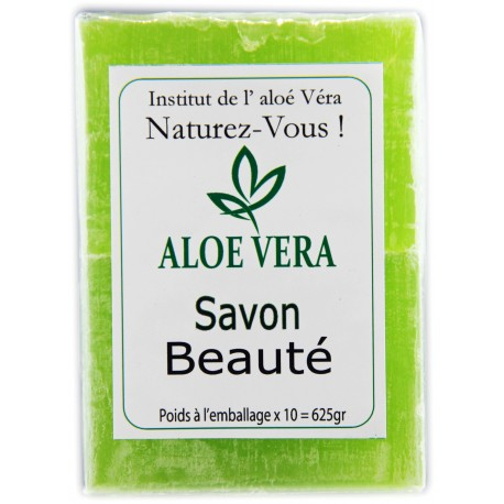 Savon vert à base d'Aloé-Véra Le lot de 10 savonettes 625gr